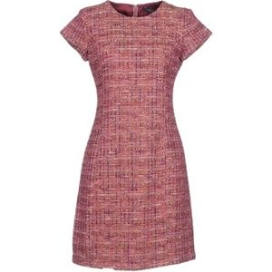 Brooks Brothers Sparkling Tweed Sheath Dress
